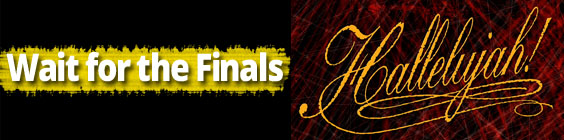 wait for the finals Daily Scripture – May 8th – Wait for the Finals