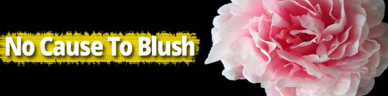 No cause to blush Daily Scripture – February 1st – No Cause To Blush
