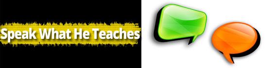 SpeakWhatHeTeaches Daily Scripture – September 30th – Speak What He Teaches