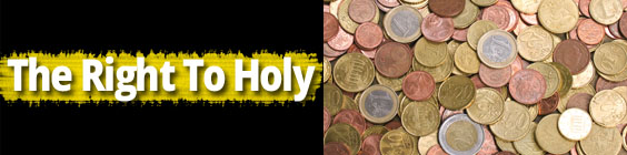 Holy Daily Scripture – October 14th – The Right to Holy Things