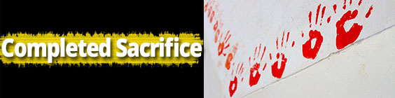 sacrifice Daily Scripture – September 1st – A Completed Sacrifice